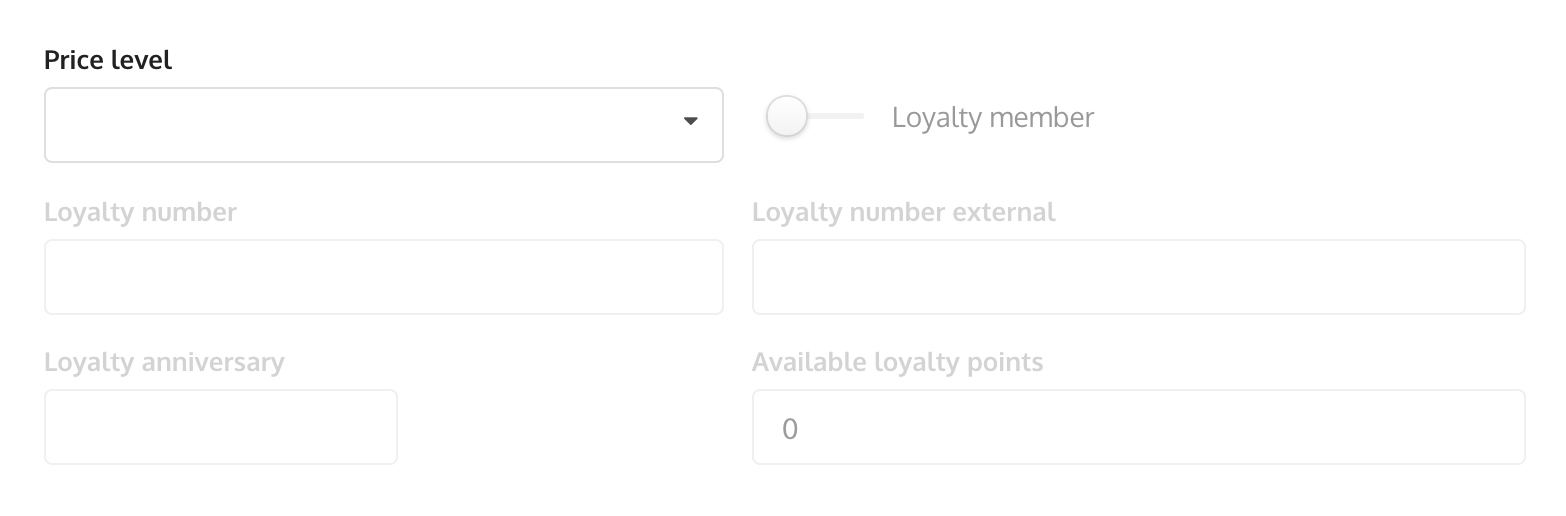 Add employee (Loyalty)