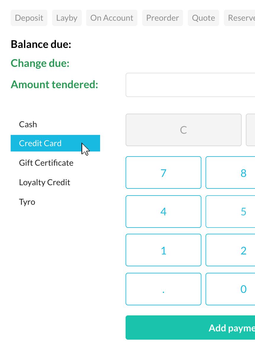 Split payment (card)